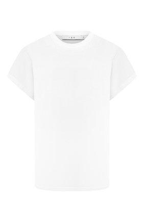 Женская хлопковая футболка IRO белого цвета, арт. WP19TABITHA | Фото 1