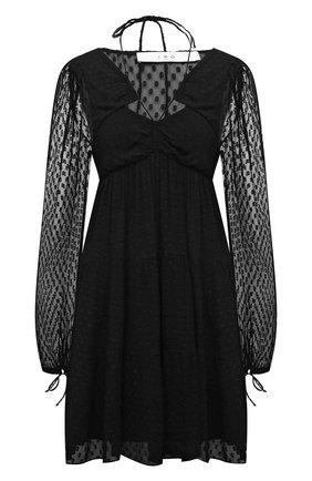 Женское платье из вискозы IRO черного цвета, арт. WP33DIX0N | Фото 1