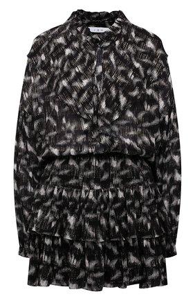 Женское платье из вискозы IRO черно-белого цвета, арт. WP33TYGA | Фото 1
