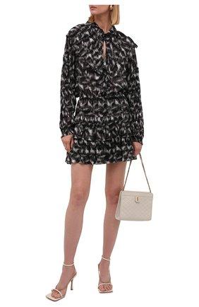 Женское платье из вискозы IRO черно-белого цвета, арт. WP33TYGA | Фото 2