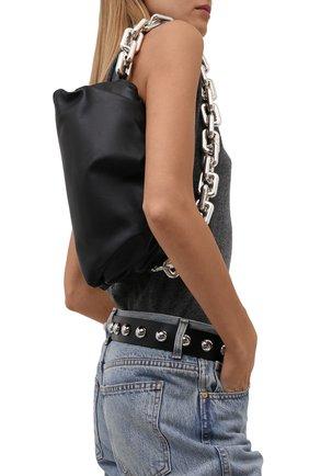 Женский кожаный ремень IRO черного цвета, арт. WP50B0REE | Фото 2