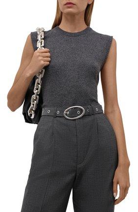 Женский кожаный ремень IRO темно-серого цвета, арт. WP50SLACK | Фото 2