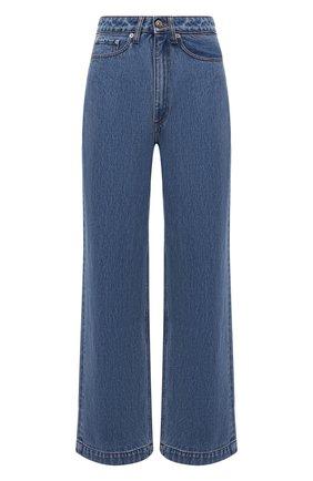 Женские джинсы NANUSHKA голубого цвета, арт. NW21CRPA01455   Фото 1