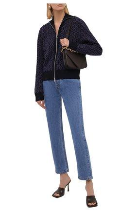 Женские джинсы NANUSHKA голубого цвета, арт. NW21CRPA01555   Фото 2