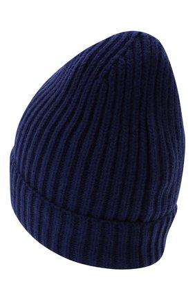Детского шерстяная шапка DOLCE & GABBANA синего цвета, арт. LBKH69/JBVJ1 | Фото 2