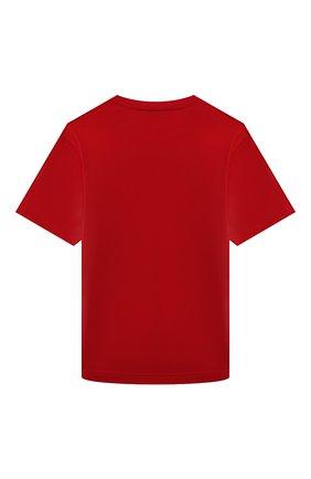 Детская хлопковая футболка N21 красного цвета, арт. N21119/N0153/N21T86U | Фото 2
