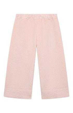 Детские хлопковые брюки IL GUFO светло-розового цвета, арт. A21PL242V6012/5A-8A | Фото 1