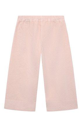 Детские хлопковые брюки IL GUFO светло-розового цвета, арт. A21PL242V6012/5A-8A | Фото 2