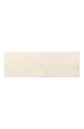 Детская шерстяная повязка CATYA белого цвета, арт. 125774 | Фото 2