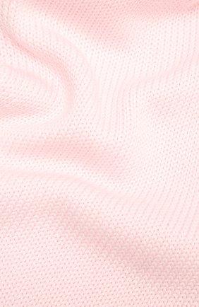 Детский шерстяной шарф CATYA розового цвета, арт. 125747 | Фото 2