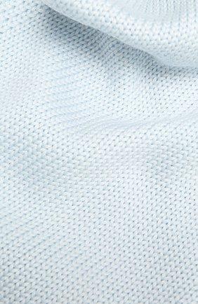 Детский шерстяной шарф CATYA светло-голубого цвета, арт. 125747 | Фото 2