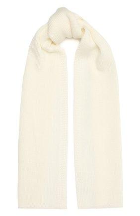 Детский шерстяной шарф CATYA белого цвета, арт. 125747 | Фото 1
