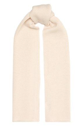 Детский шерстяной шарф CATYA кремвого цвета, арт. 125747 | Фото 1
