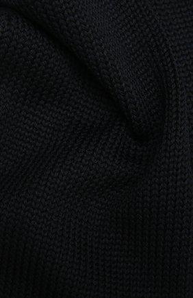 Детский шерстяной шарф CATYA темно-синего цвета, арт. 125747 | Фото 2