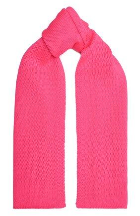 Детский шерстяной шарф CATYA фуксия цвета, арт. 125747 | Фото 1