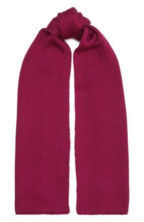 Детский шерстяной шарф CATYA малинового цвета, арт. 125747 | Фото 1