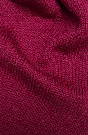 Детский шерстяной шарф CATYA малинового цвета, арт. 125747 | Фото 2