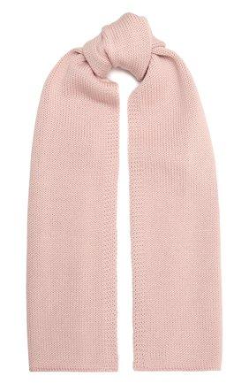 Детский шерстяной шарф CATYA розового цвета, арт. 125747 | Фото 1