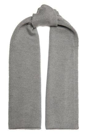Детский шерстяной шарф CATYA серого цвета, арт. 125747 | Фото 1