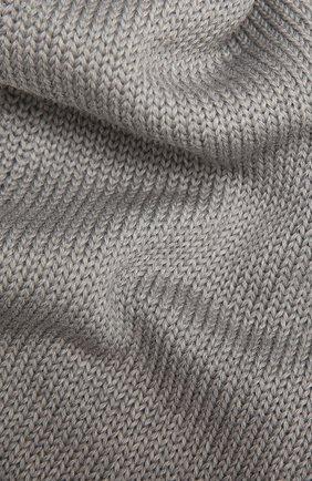 Детский шерстяной шарф CATYA серого цвета, арт. 125747 | Фото 2