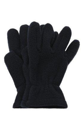 Детские перчатки CATYA темно-синего цвета, арт. 125543 | Фото 1