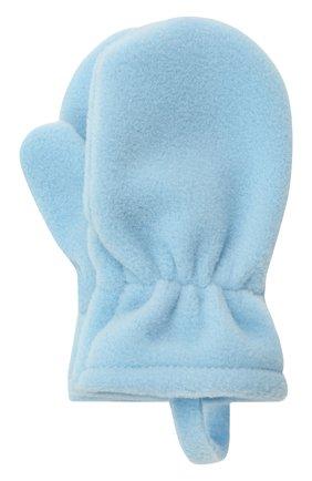 Детские варежки CATYA синего цвета, арт. 125542 | Фото 1