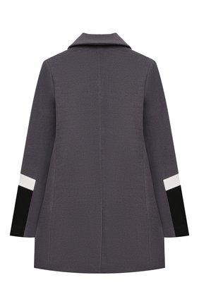 Детское пальто NEIL BARRETT KIDS темно-серого цвета, арт. 028940 | Фото 2