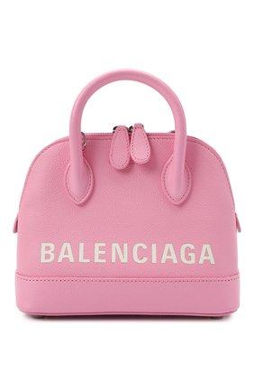 Женская сумка ville xxs BALENCIAGA светло-розового цвета, арт. 550646/1IZ13 | Фото 1