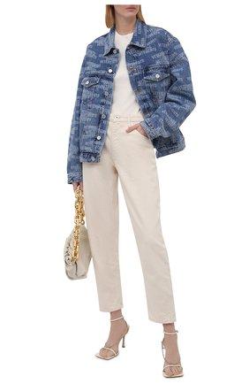 Женская джинсовая куртка VETEMENTS синего цвета, арт. UA52JA250B 2803/W | Фото 2
