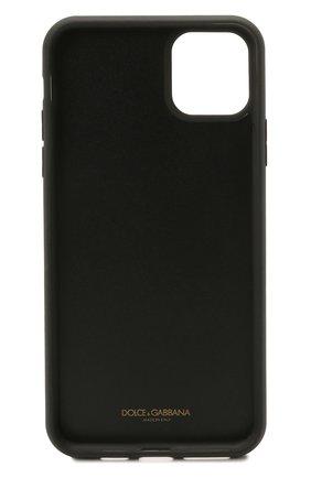Чехол для iphone 11 pro max DOLCE & GABBANA красного цвета, арт. BI2690/AU770   Фото 2