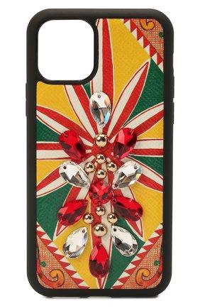 Чехол для iphone 11 pro DOLCE & GABBANA разноцветного цвета, арт. BI2689/AW427   Фото 1