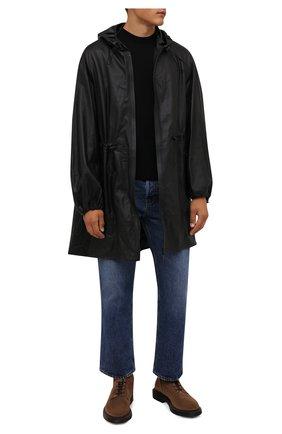 Мужские замшевые ботинки BRUNELLO CUCINELLI светло-коричневого цвета, арт. MZUPLNU174 | Фото 2 (Материал внутренний: Натуральная кожа; Подошва: Плоская; Мужское Кросс-КТ: Ботинки-обувь; Материал внешний: Замша)