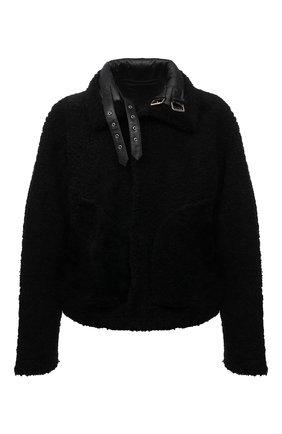 Мужская дубленка VETEMENTS черного цвета, арт. UA52JA950BL 2408/M | Фото 1