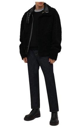Мужская дубленка VETEMENTS черного цвета, арт. UA52JA950BL 2408/M | Фото 2