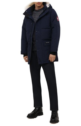 Мужская пуховик emory CANADA GOOSE темно-синего цвета, арт. 2580M | Фото 2