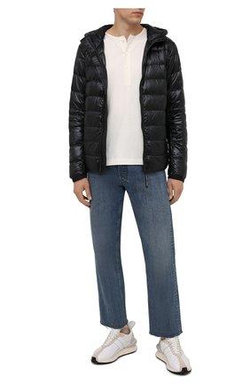 Мужская пуховая куртка crofton CANADA GOOSE черного цвета, арт. 2227M | Фото 2 (Материал внешний: Синтетический материал; Материал утеплителя: Пух и перо; Материал подклада: Синтетический материал; Кросс-КТ: Куртка; Длина (верхняя одежда): Короткие; Рукава: Длинные; Мужское Кросс-КТ: пуховик-короткий; Стили: Кэжуэл)