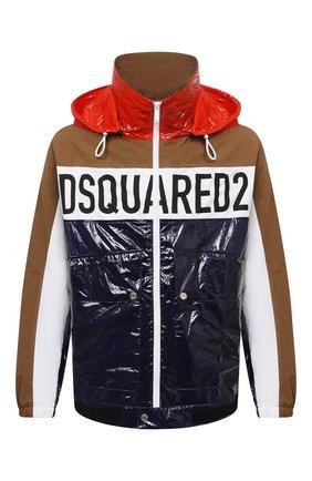 Мужская куртка DSQUARED2 разноцветного цвета, арт. S74AM1189/S53584   Фото 1