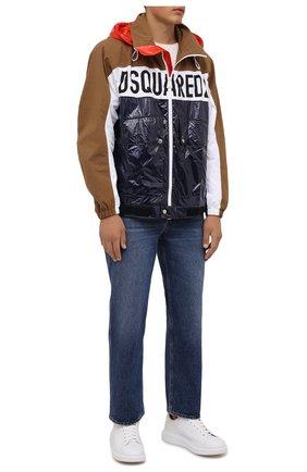 Мужская куртка DSQUARED2 разноцветного цвета, арт. S74AM1189/S53584   Фото 2