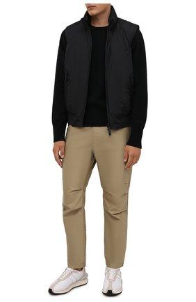 Мужской пуховый жилет DSQUARED2 черного цвета, арт. S79FB0003/S53817   Фото 2