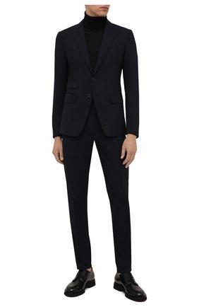 Мужской шерстяной костюм DSQUARED2 темно-синего цвета, арт. S71FT0180/S40320 | Фото 1