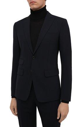 Мужской шерстяной костюм DSQUARED2 темно-синего цвета, арт. S71FT0180/S40320 | Фото 2