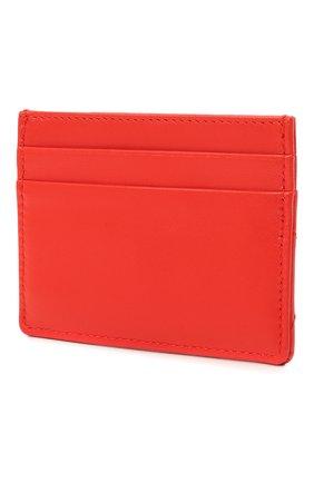 Женский кожаный футляр для кредитных карт DOLCE & GABBANA красного цвета, арт. BI0330/AV967   Фото 2