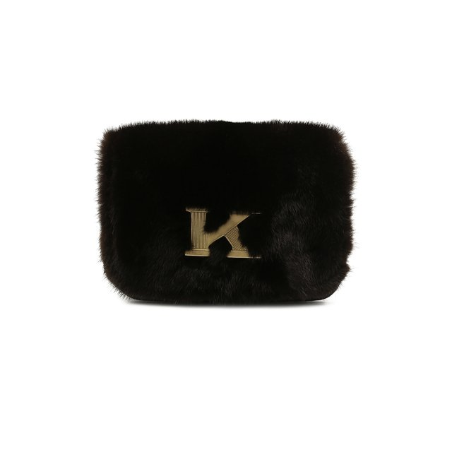 Сумка из меха норки Kiton