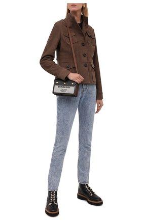 Женские кожаные ботинки h578 HOGAN черного цвета, арт. HXW5780DH5206L | Фото 2