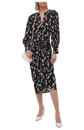 Женское платье из вискозы и шелка IRO разноцветного цвета, арт. WP33CAR0LA | Фото 2