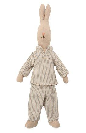 Детского игрушка кролик MAILEG бежевого цвета, арт. 16-9222-00 | Фото 1