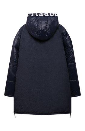 Детский утепленное пальто ALESSANDRO BORELLI MILANO синего цвета, арт. I21281-1 | Фото 2