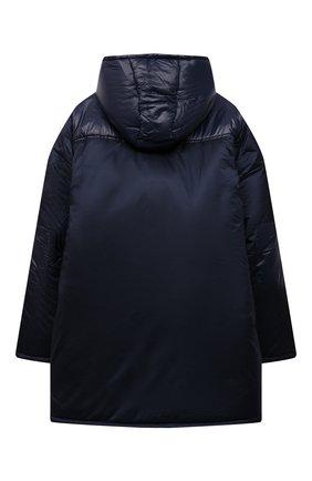 Детский утепленное пальто ALESSANDRO BORELLI MILANO синего цвета, арт. I21283-9 | Фото 2