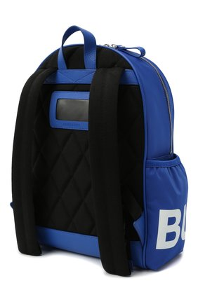 Детская рюкзак BURBERRY синего цвета, арт. 8041236 | Фото 2 (Материал: Текстиль)