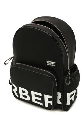 Детская рюкзак BURBERRY черного цвета, арт. 8041235   Фото 3 (Материал: Текстиль)